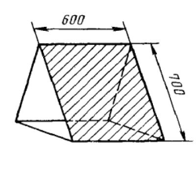 Пограничный знак Призма, пограничные знаки на взлетной полосе ГОСТ 25269-82