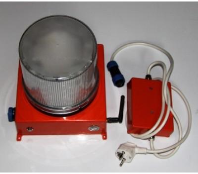 Автономный аккумуляторный импульсный маяк